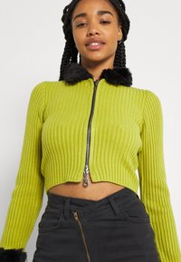 The Ragged Priest - LATE CARDI - Vest - lime/black - 3