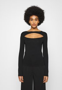 NA-KD - Long sleeved top - black - 0