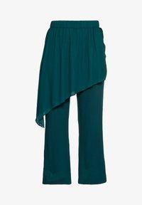 Sheego - Trousers - deep green - 4