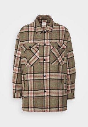 ONLELLENE VALDA CHACKET - Summer jacket - balsam green/pink/black