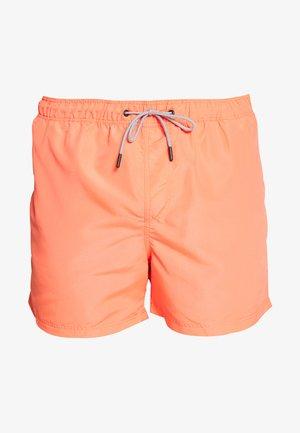 JJIARUBA SWIM  SHORTS - Swimming shorts - hot coral