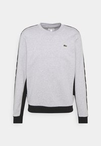 Lacoste Sport - TAPERED - Sweatshirt - silver chine/black - 5