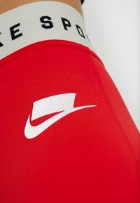 Nike Sportswear - Leggings - Trousers - university red/white - 5
