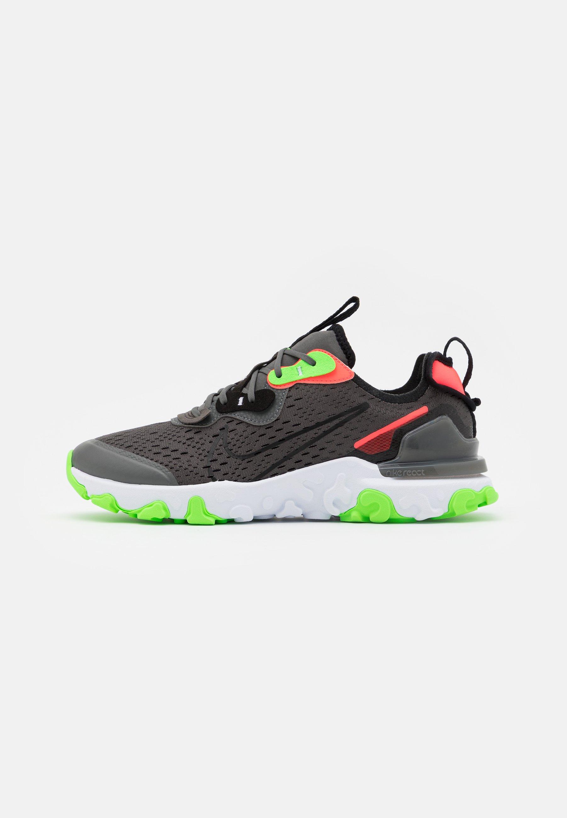 Nike Sportswear REACT VISION WW - Baskets basses - iron grey/black ...