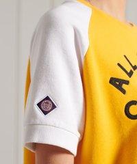 Superdry - COLLEGIATE - Print T-shirt - utah gold - 2