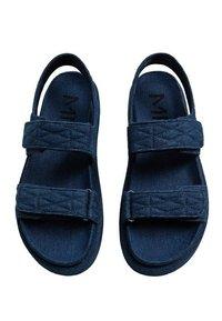 Mango - Sandals - mittelblau - 2