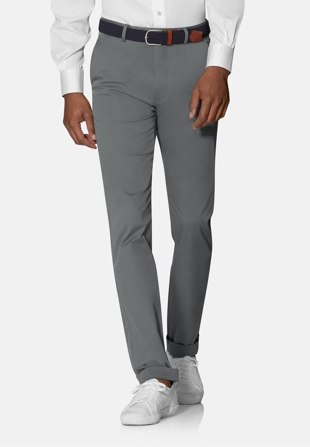 RADCLIFFE SLIM FIT STRETCH - Chino - grey/charcoal