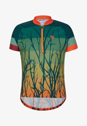 NANKEI JUNIOR - Print T-shirt - spruce green