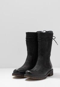 Felmini - CASTER - Lace-up boots - black - 4
