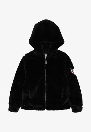 VESTE FOURRURE - Winter jacket - schwarz