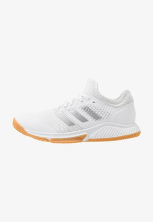 COURT TEAM BOUNCE - Handball shoes - footwear white/silver metallic