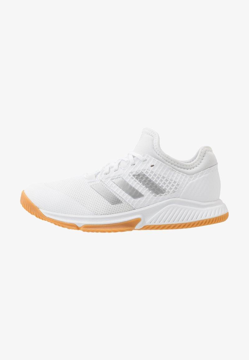adidas Performance - COURT TEAM BOUNCE - Käsipallokengät - footwear white/silver metallic