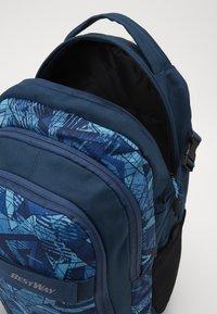 Fabrizio - BEST WAY BACKPACK - Školní taška - teal/navy blue - 4