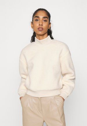 PCSADIE - Fleece jumper - whitecap gray