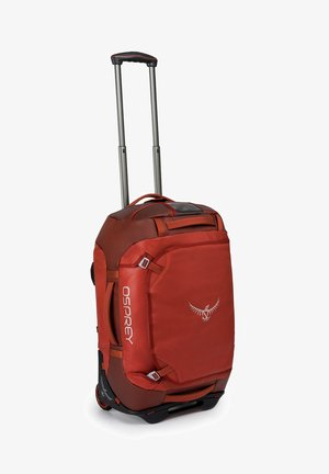 Wheeled suitcase - ruffian red