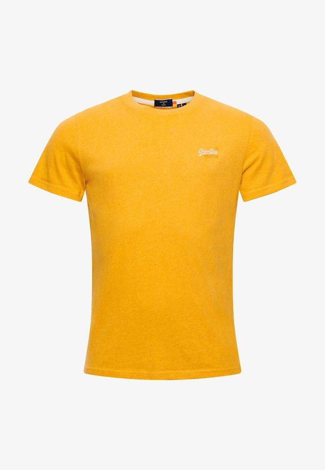OL VINTAGE EMB  - T-shirt basic - upstate gold marl