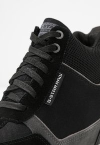G-Star - BOXXA WEDGE - Høye joggesko - black - 2