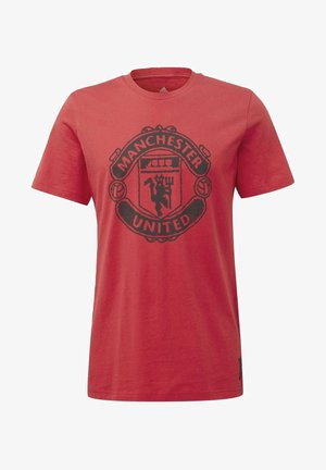 MANCHESTER UNITED DNA GRAPHIC T-SHIRT - Club wear - red
