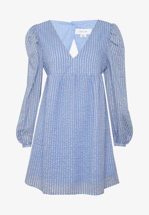 STRIPE SMOCK MINI DRESS - Vestido informal - multi