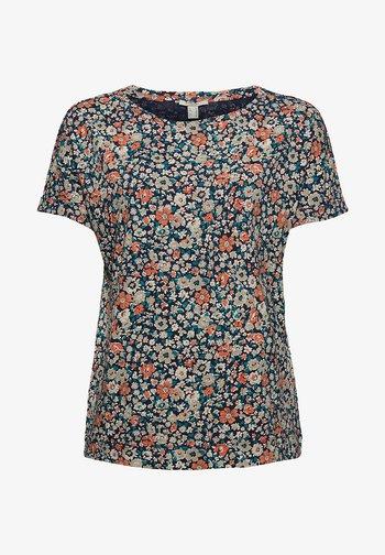 T-shirt imprimé - navy blue