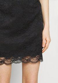Vila - VIJASMIN FESTIVAL SKIRT - Mini skirt - black - 4