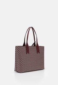 Emporio Armani - FRIDASHOPPING BAG - Handbag - vinaccia/perla - 1