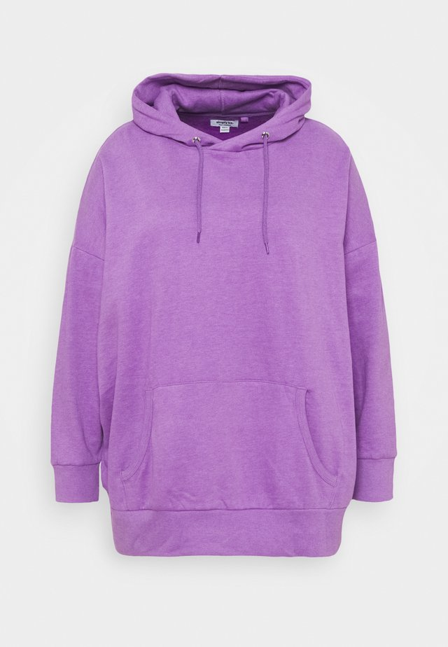 OVERSIZED HOODY - Sweat à capuche - violet