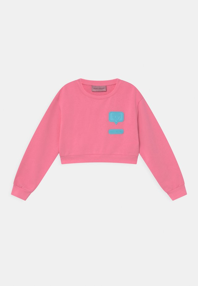 PATCH  - Sweatshirt - sachet pink