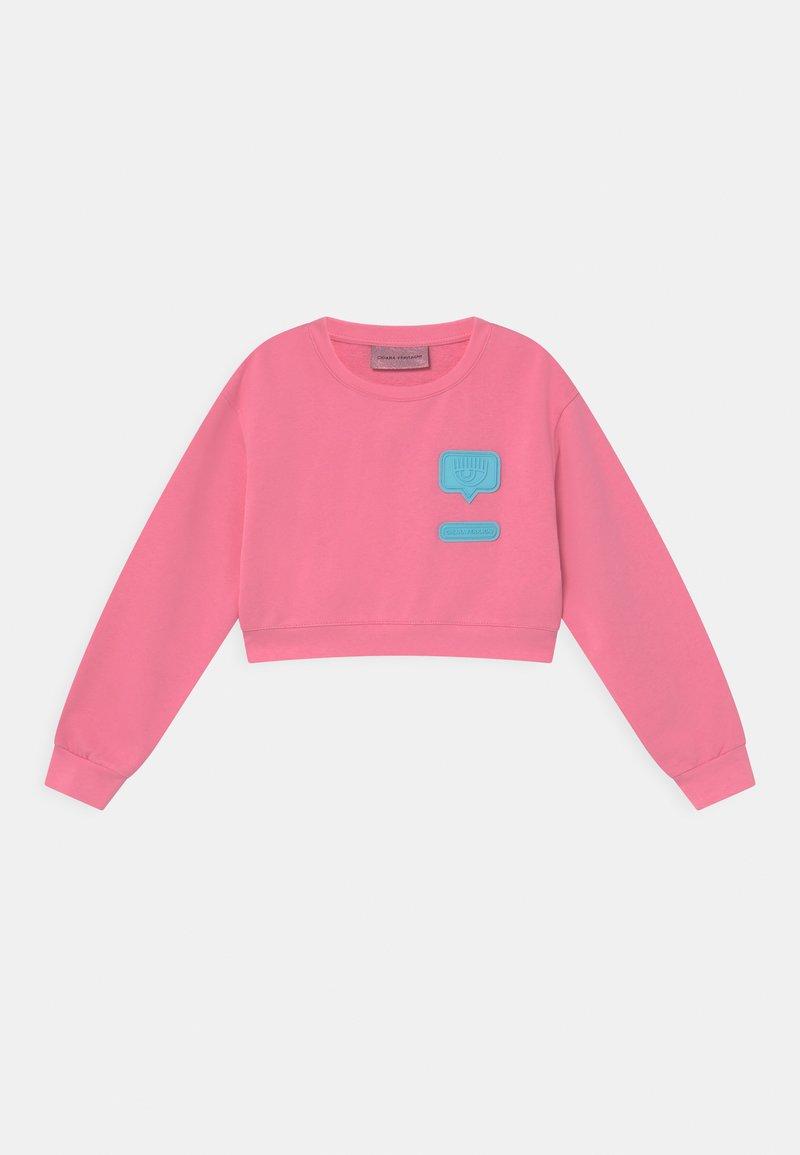 CHIARA FERRAGNI - PATCH  - Sweatshirt - sachet pink