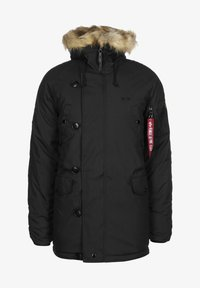 Alpha Industries - EXPLORER W/O PATCHES - Winter jacket - black - 0