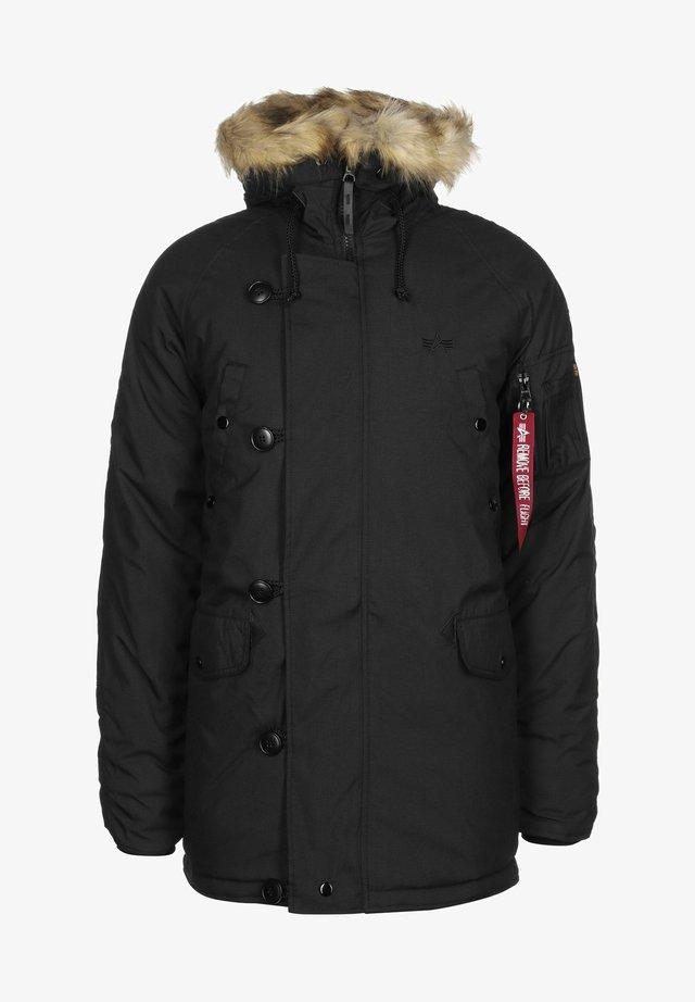 EXPLORER W/O PATCHES - Winter jacket - black