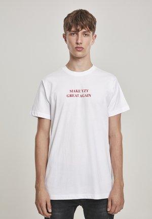 GREAT AGAIN - Print T-shirt - white