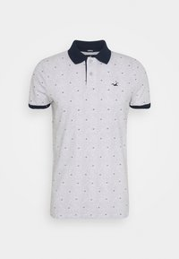 Hollister Co. - CORE PRINTS - Polo - grey - 4
