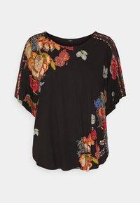 Desigual - GABI - T-shirts med print - black - 4