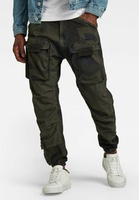 G-Star - 3D STRAIGHT TAPERED CARGO - Cargo trousers - multi coloured - 1