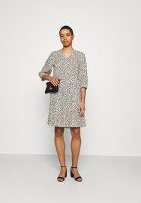 Moss Copenhagen - LATRICE DRESS - Day dress - ecru - 1