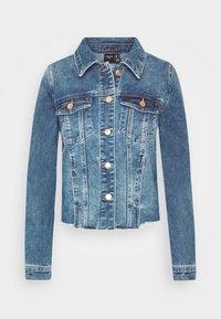 VMFAITH JACKET  - Jeansjakke - medium blue denim