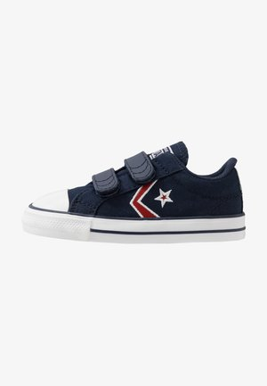 STAR PLAYER EMBROIDERED - Trainers - obsidian/university red/white