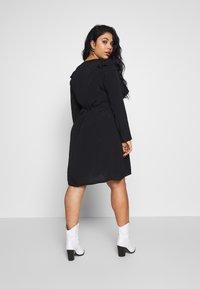 Cotton On Curve - BRITT BABYDOLL MINI DRESS - Sukienka letnia - black - 2