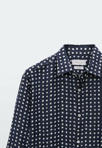 Massimo Dutti - SLIMFIT - Shirt - blue/black denim - 3