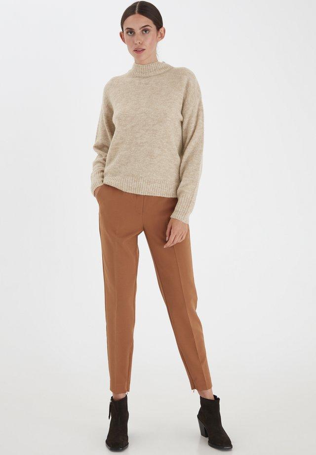 IHAMARA LS - Sweter - tapioca