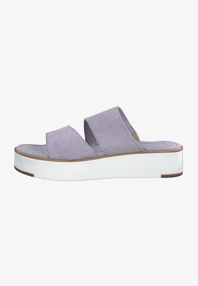 Sandalias planas - lavender