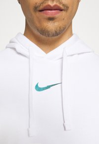 Nike Sportswear - ZIGZAG HOODIE - Sweatshirt - white - 8