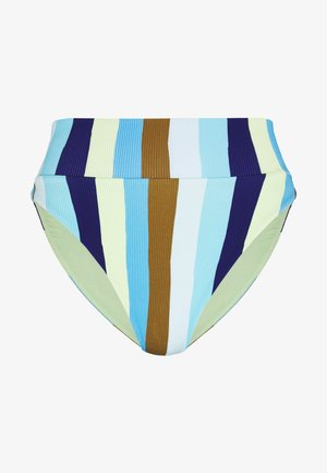 HI CUT CHEEKY - Bikini bottoms - bluejay