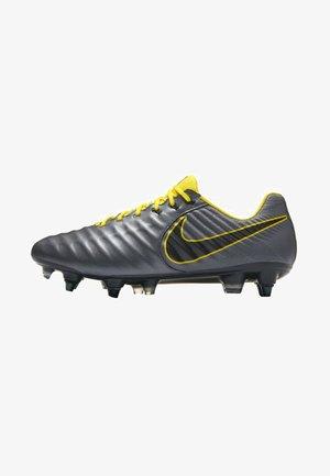 NIKE TIEMPO LEGEND VII ELITE SG-PRO ANTI-CLOG FUSSBALLSCHUH FÜR W - Screw-in stud football boots - dark gre/ black/yellow