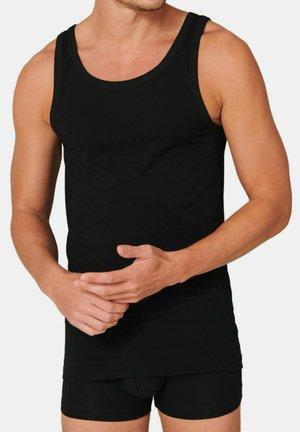 4ER-PACK - Undershirt - schwarz