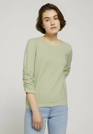 Sweatshirt - light dusty green