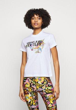 TEE - T-shirts med print - optical white