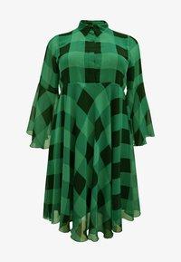 Yoek - CHECK PRINT - Day dress - green - 0