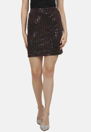 Mini skirt - flieder